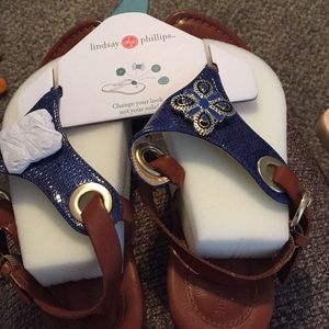 New Lindsay Phillips Sandals